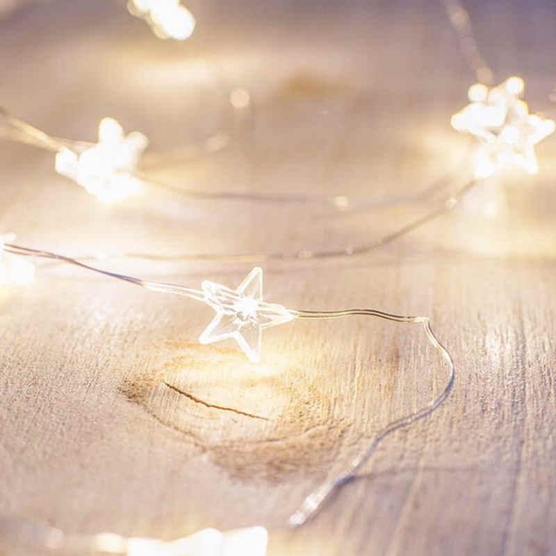 3M Thỏ Dây Đèn Pin Hoạt Động Ngày Lễ Tiên Đèn Cho Vòng Hoa Cây Giáng Sinh Đảng Cưới Ngày Lễ Đồ Trang Trí Nhà Cửa