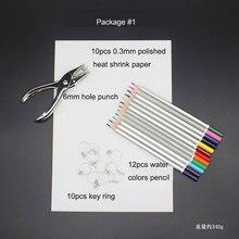 Термоусадочная пленка ручная бумага материалов DIY ручной комплект для украшения искусства Динка лист дырокол