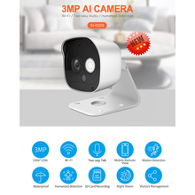 hd 1080p wifi smart camera outdoor 3mp wireless secure night vision camera baby monitor home safety surveillance camera HD 1080P WiFi Smart Camera Outdoor 3MP Wireless Secure Night Vision Camera Baby Monitor Home Safety Surveillance Camera