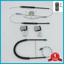 For Skoda Fabia MK1 2000 2001 2002 2003 2004 2005 2006 2007 2008 Car-style Electric Window Regulator Repair Kit Front Right Side