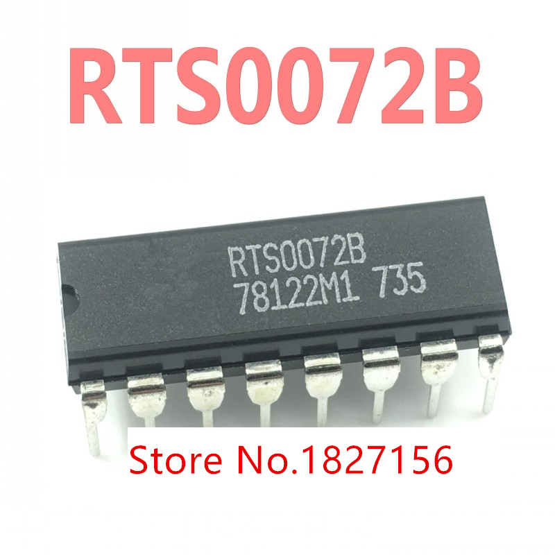 2Pcs RTS0072B RTS0072 DIP16 Original VOICE CHANGER IC NEW image