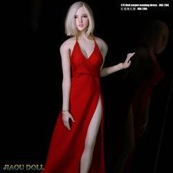 1/6 skala kobieta żołnierz suknia wieczorowa suknia dla 12in figurka Phicen tblegue HT Model lalki zabawka