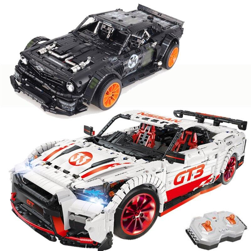 23009 23010 GT R Racing รถ power led light Technic 20102 MOC 22970 25326 building block อิฐเด็ก-ใน บล็อก จาก ของเล่นและงานอดิเรก บน   1