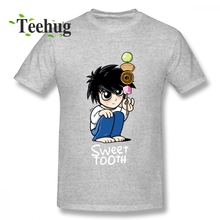 цена на Cute L Death Note T Shirt 2018 New Summer For Man Quality Cotton Top Tees