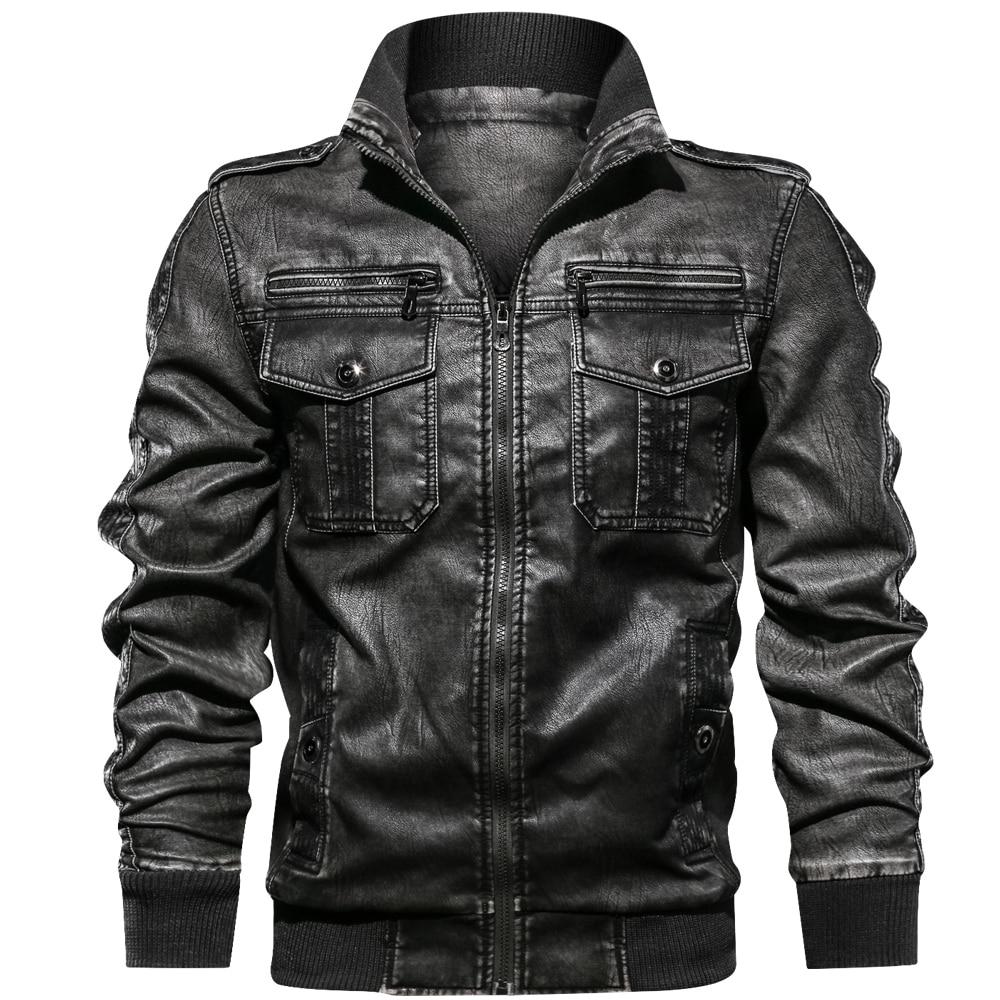FGKKS Men Parka Cotton Thick Jacket 2019 Winter New Warm Fashion Fleece Jackets Coats Fur Collar