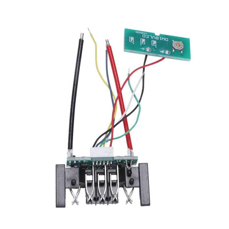 Замена батареи пластиковый чехол для 20V 3A 4A Dcb200/Dcb204-2/Dcb180/Dcb182/Dcb200 18V литий-ионный аккумулятор крышка части