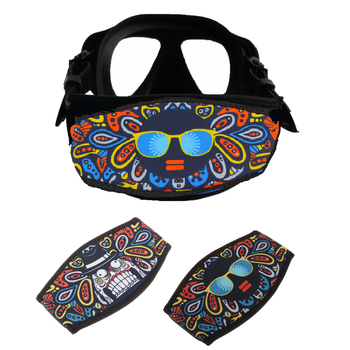 Neoprene Diving Mask Strap Cover Wrapper Hair Protector Goggle Sling Wrap Scuba for