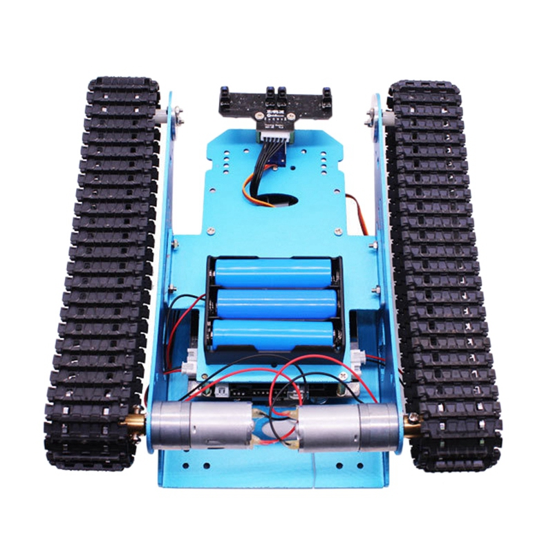 Robot Car Tank Kit For Arduino Programmable Smart Tank Chassis Robot Vehicle, Smart Learning & Stem Kids Educational Toy Super - 3