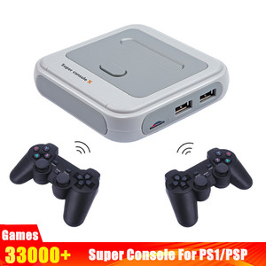 Video/TV Game Console Super Console-X Mini HDMI Retro Game Players for PSP PS1 3D Games With Mulit-Language Linux System