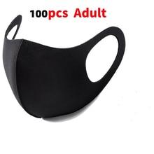 100PCS Anti Saliva Anti Splash PM2.5 Face Shield Mask Dust Respirator Washable Reusable Mask Safty Virus Protective Children Kid
