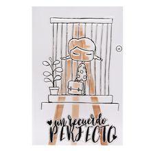 Fence Cute Girl Cartoon Silicone Seal Stamp DIY Scrapbooking Photo Album Decor