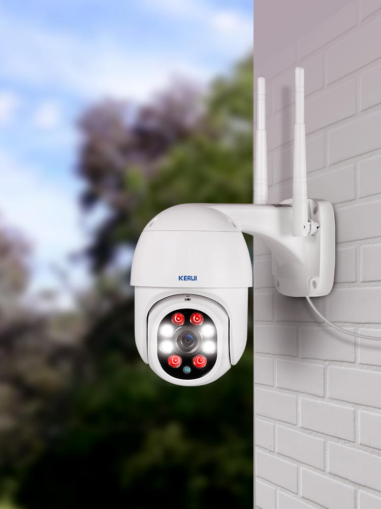 Wireless Camera Ptz Wifi Outdoor Security ONVIF 4x-Digital-Zoom KERUI Yoosee 1080p Detect