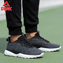PEAK Men Running Shoes Lightweight Wearable Non-slip Casual shoes Autumn Winter Outdoor Fitness Jogging Sneakers все цены