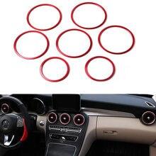 Внутреннее кольцо для вентиляции автомобиля украшение салона