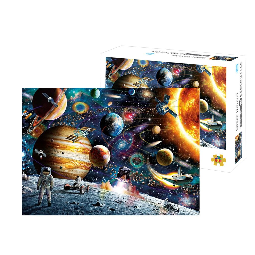 2020 New Hot Space Educational 1000 Piece Jigsaw Puzzles  Adults Kids Puzzle Toy