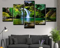 Waterfall 3d diamond Embroidery Diamond Painting full square drill Mosaic Stich puzzle 5d diamond Set Nature DIY painting