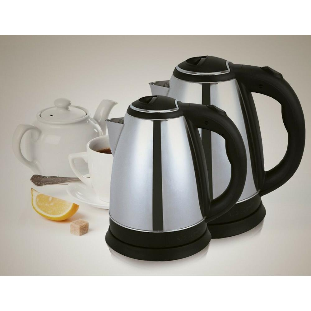 KETTLE ELECTRIC 1.5L STAINLESS STEEL ELECTRIC KETTLE 360 DEGREE WARRANTY