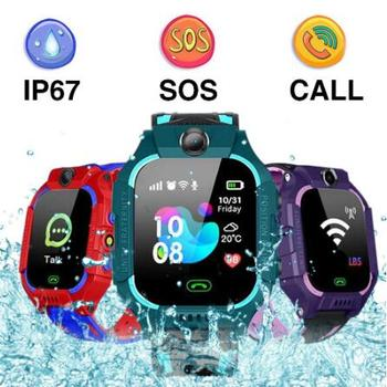 Q19 Kid Smart Watch LBS Position Location Camera Phone Baby Voice Chat SOS Waterproof Childrens
