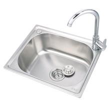 0.8mm/1.1mm Thick Home Improvement Kitchen Sink Fregadero De Cocina Wash  Portable Sink  Stainless Sink Wastafel Kitchen Faucets