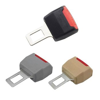 2020 New 3 Color 1Pc Car Seat Belt Clip Extender Safety Seatbelt Lock Buckle Plug Thick Insert Socket image