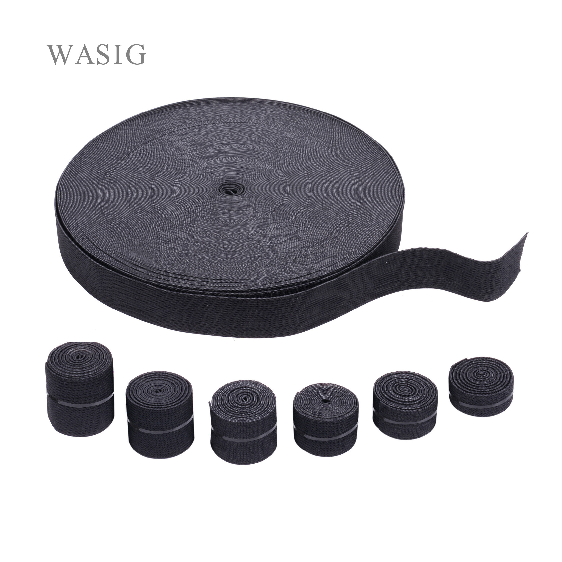 1.1 Yard Wig Elastic Band 15 25 35 40Mm Wig Band For Hairnet Adjustable Elastic Band For Wig Cap