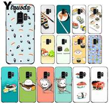Yinuoda Sushi cartoon food cute Custom Photo Soft Phone Case For Samsung GALAXY S9 plus S3 S6 7 8 9 S10 E S9 Cover(China)