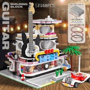 Image 5 - 16005 Streetview Gebouw Speelgoed De Antieke Collectie Winkel Hoek Postkantoor Model Bouwstenen Kids Kerstmis Speelgoed Geschenken