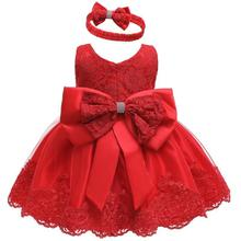 1年の誕生日ドレス衣装赤ちゃんの洋服幼児パーティードレス王女女の赤ちゃん花服ベビークリスマスガウン