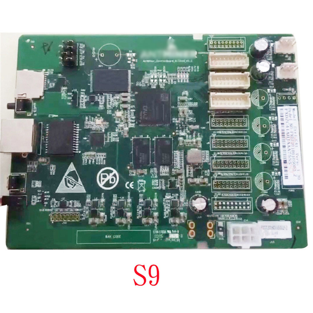 Motherboard For Antminer S9 T9+ Z11/z9/z9MINI System Data Circuit Control Module CB1 Control Board Replacement PartsReplacement Parts & Accessories   -