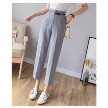 JUJULAND Spring Womens casual Pencil pants new fashion silm elastic cotton trousers women Solid color plus size 7102