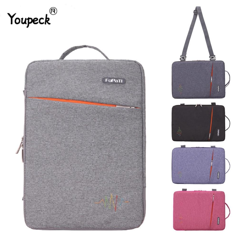 FOPATI Laptop Bag 15.6 Inch For Macbook Pro 15 Waterproof 13.3 Inch Notebook Bag Laptop Sleeve 14 Inch For Macbook Air 13
