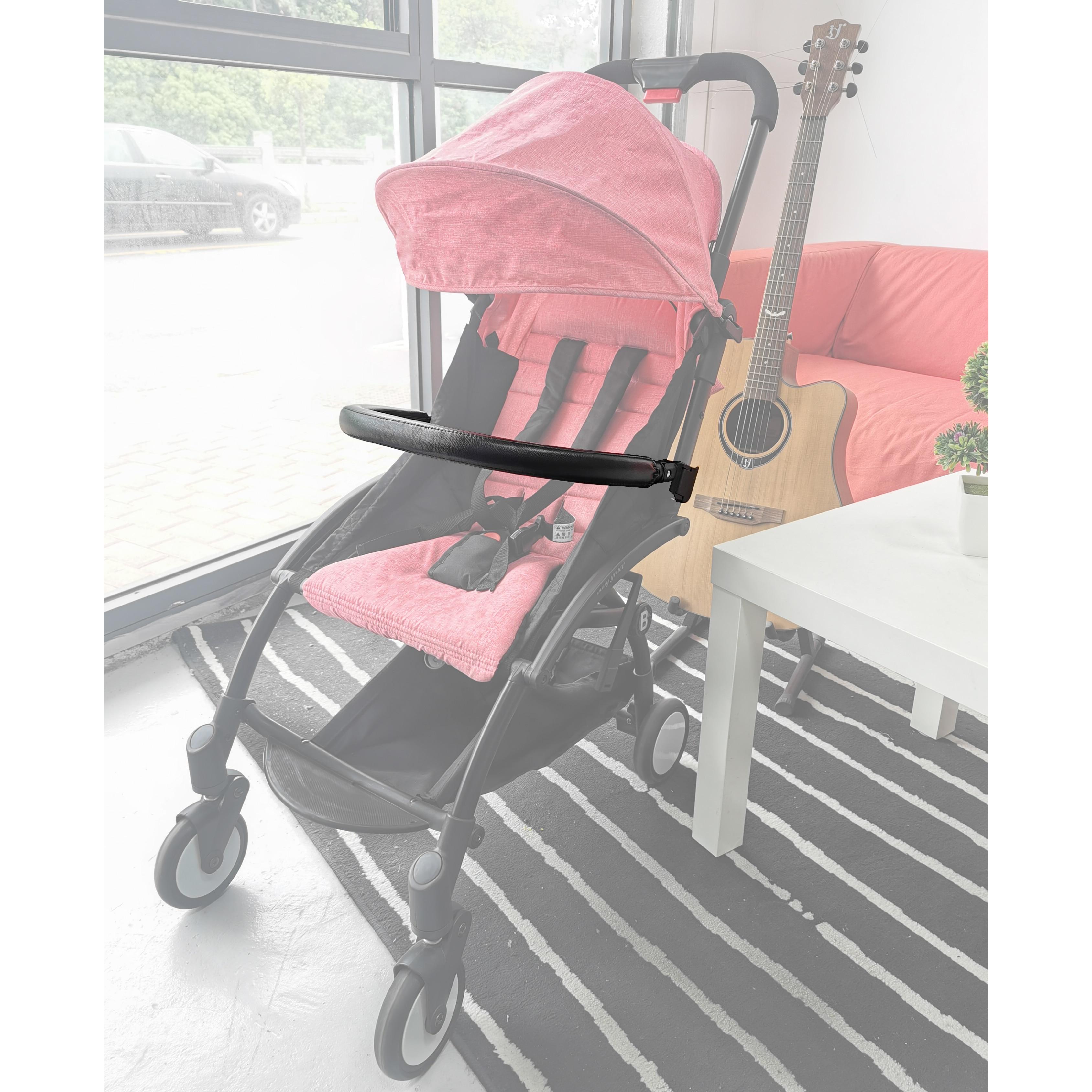 Новая коляска подлокотник бампер Руль Ручка съемный кожаный чехол общие аксессуары для коляски для BBZ YOYO Babytime YUYU