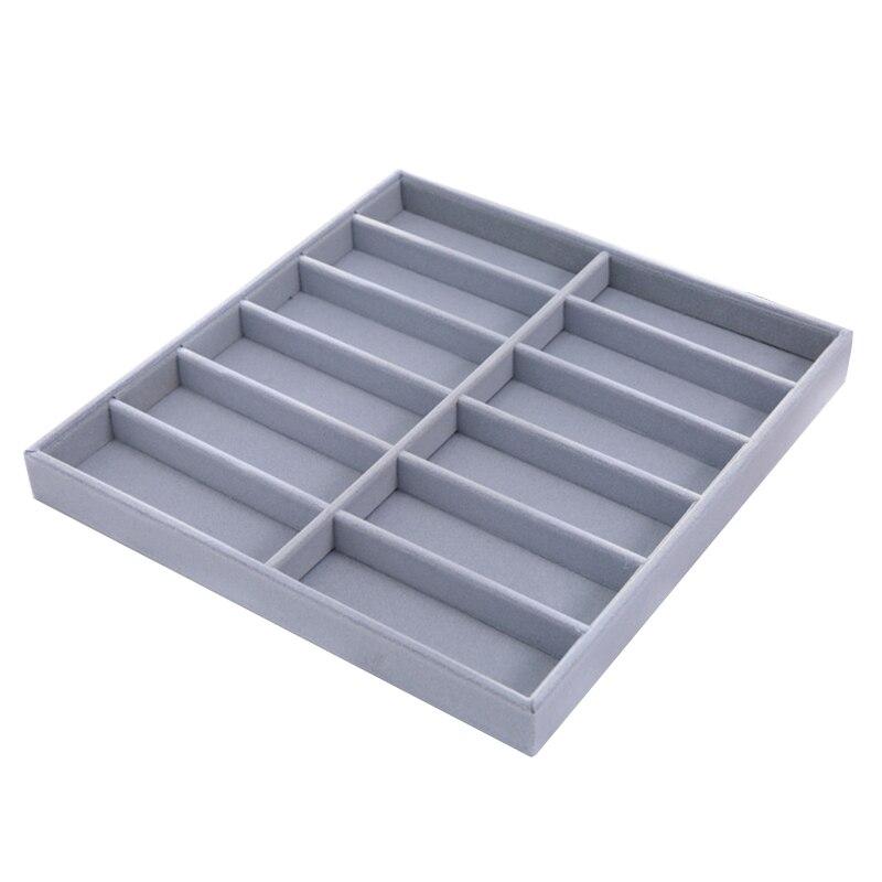 Nova caixa organizadora de óculos de sol, caixa de armazenamento de óculos para óculos de sol coletor