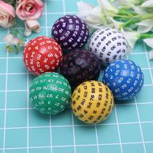 Merk Nieuwe 100 Zijdige Polyhedral Dice D100 Multi Zijdige Acryl Dices Voor Tafel Board Rol Playing Game Bar Pub Club party