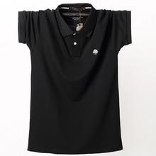 남성 폴로 셔츠 2020 Mens Camisa Masculina 남성면 탑스 티셔츠 유니폼 큰 키 큰 남자 대형 셔츠 남성 대형 여름 5XL