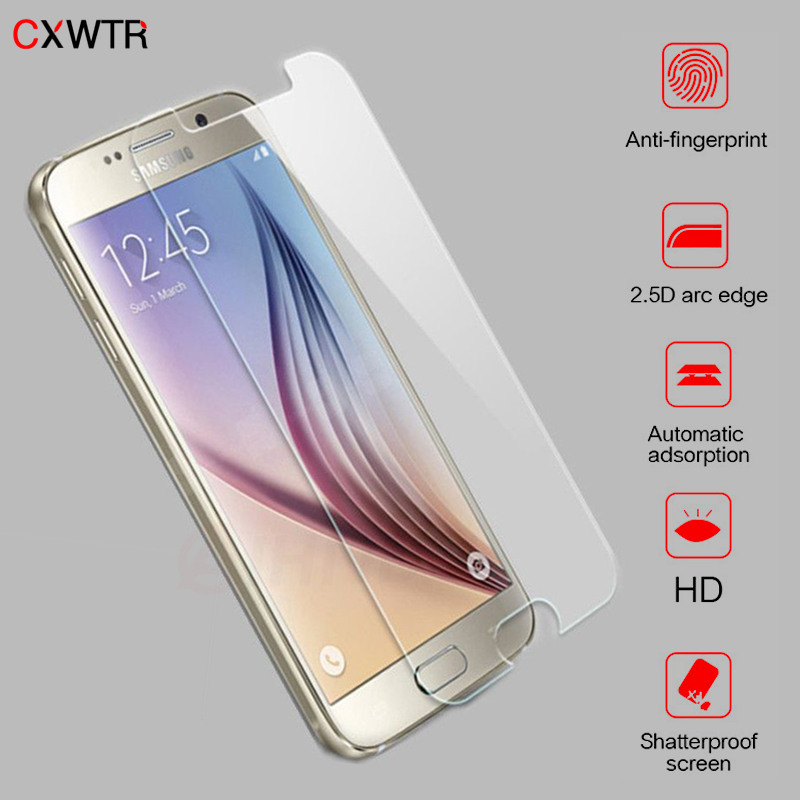 Protective Glass On The For Samsung Galaxy S7 S6 S5 S4 S3 J4 J6 J8 A7 A6 Plus 2018 Tempered Screen Protector Glass Film