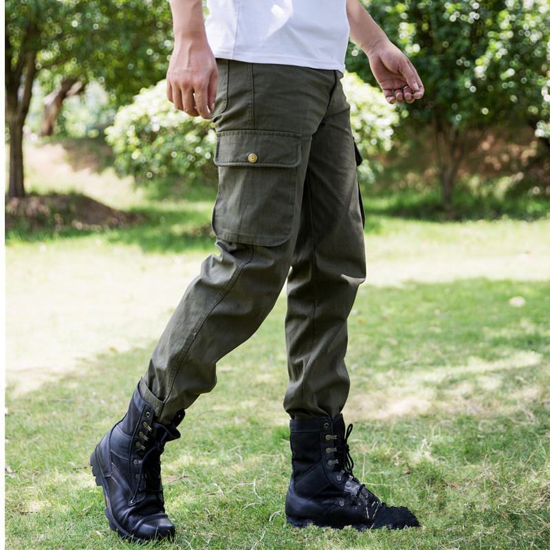 Military Tactical Cargo Pants SWAT Combat Army Trousers Male Casual Many Pockets Stretch Cotton Cargo Pants Men
