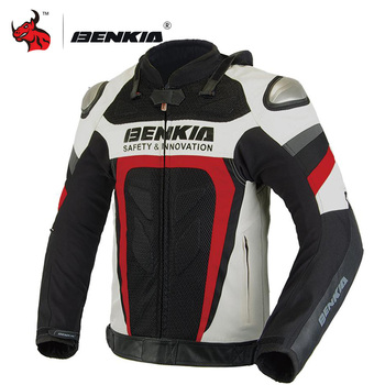 BENKIA Jacket Motorcycle Protective Gear Men Summer Breathable Mesh Moto Motocross Jacket Motorbike Racing Jacket Clothing S-5XL motorcycle jacket men summer moto protective gear jacket men racing reflective oxford clothing motorbike jackets