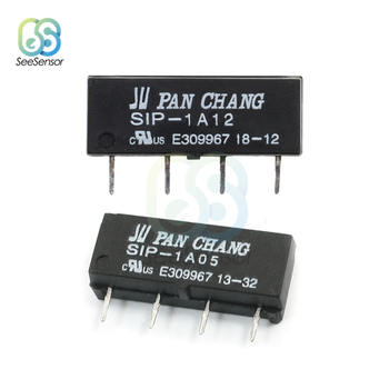 5V 12V relé SIP-1A05 SIP-1A12 interruptor de relé de lengüeta para PAN CHANG relé 4PIN