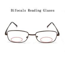 Unisex Retro โลหะแว่นตาแว่นขยายผู้หญิงผู้ชายดูใกล้ Far Presbyopia แว่นตา CUSTOM เลนส์ Prescription N5