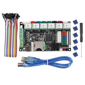 3D Printer Accessories Dual Z Axis 3 Print Head Motherboard MKS Robin Pro + 6 Pcs TMC2209 Motherboard Driver Kit Combination