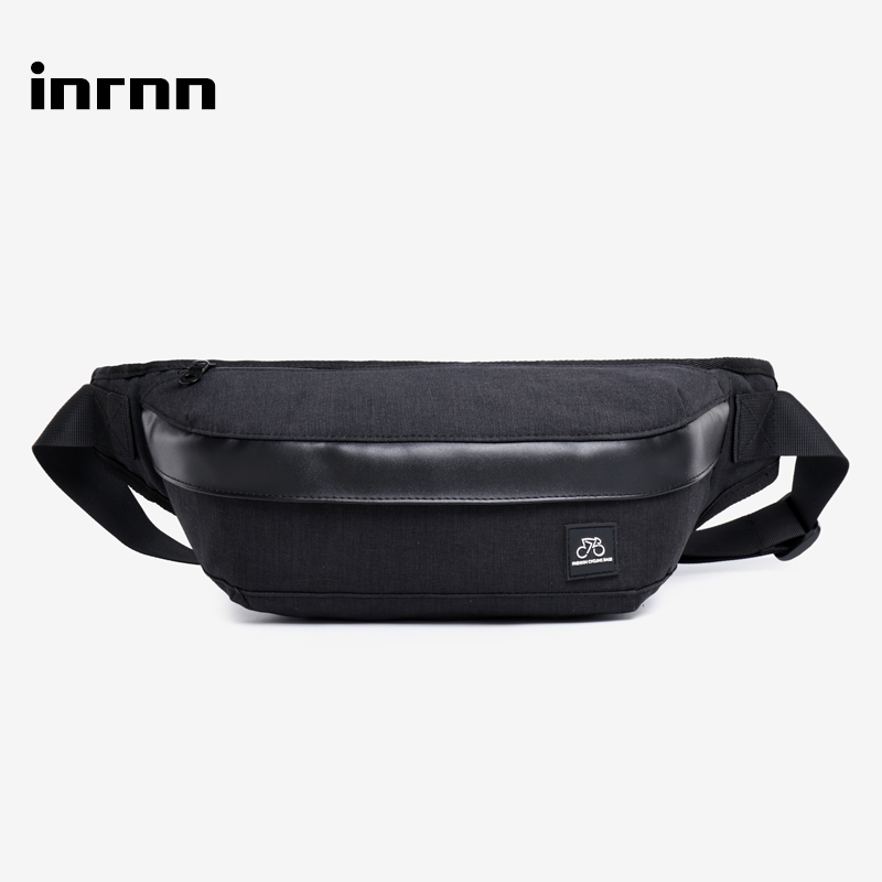 Inrnn Men's Fashion Sports Waist Bag Belt Fanny Pack For Teenagers Chest Packs Male Travel Crossbody Bag Money Phone Pouch Bags