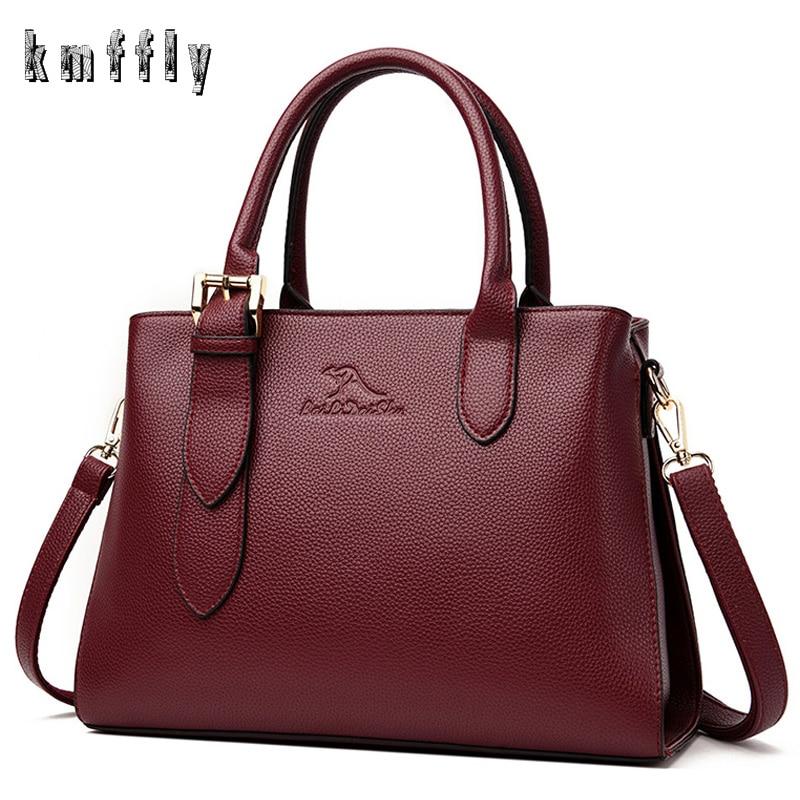 2020 New Women's Bag High Quality Ladies Large Capacity Leather Shoulder Messenger Bag Luxury Designer Women Purses And Handbags