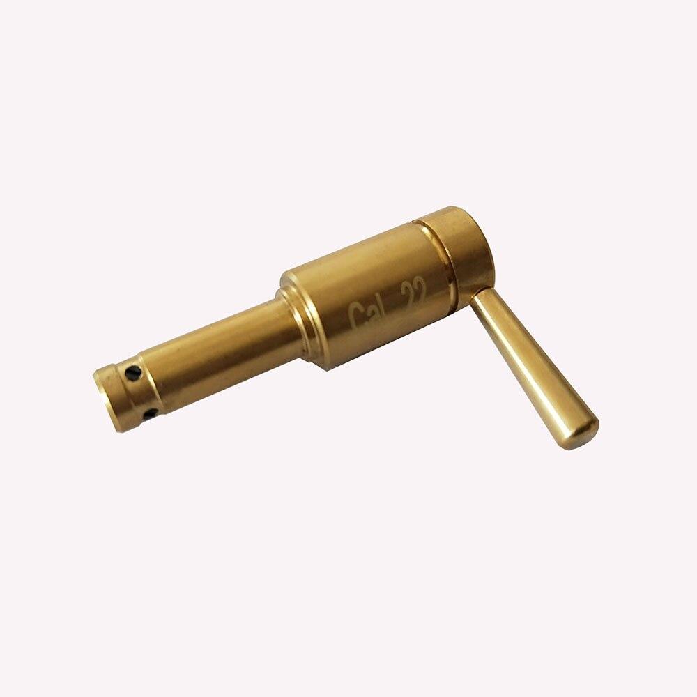 Tactical red dot laser bore sighter laser scope. 22 calibre rifle novo estilo bateria colimador