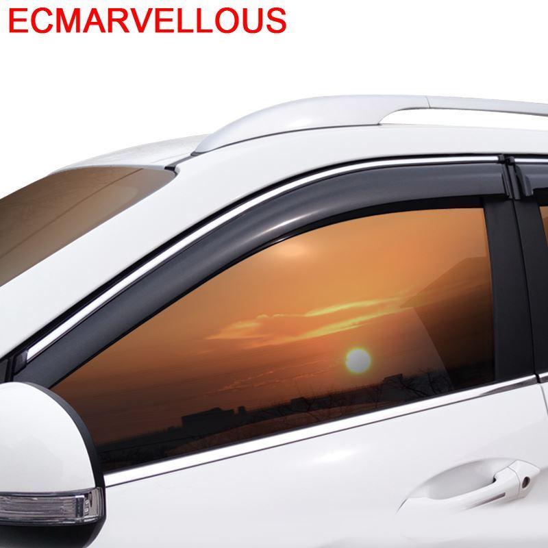 Décoration voiture pluie style accessoires moulures décoratives vitres Auto visière pour Morris Garages MG 350 550 E550 ERX5 RX5