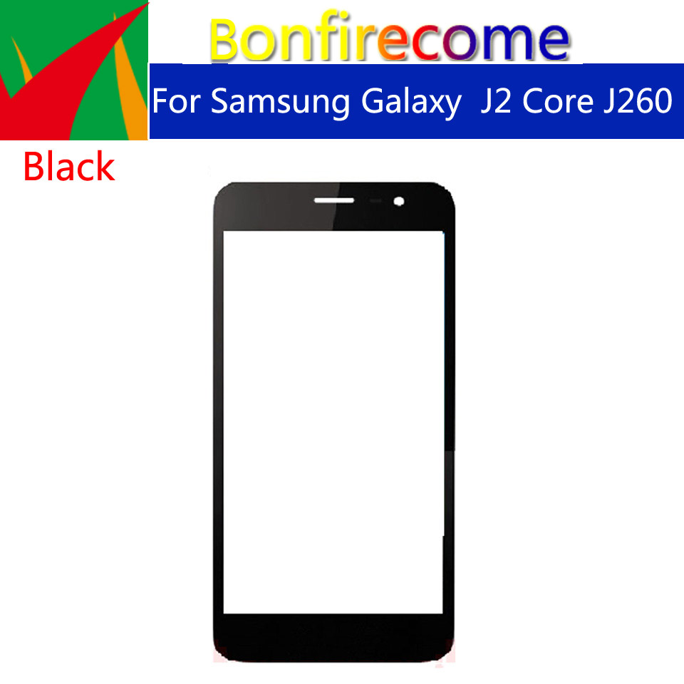 10pcs\lot For <font><b>Samsung</b></font> Galaxy <font><b>J2</b></font> Core <font><b>2018</b></font> J260 J260G J260SM J260F LCD Front Touch <font><b>Screen</b></font> Glass Outer Lens Replacement 5.0