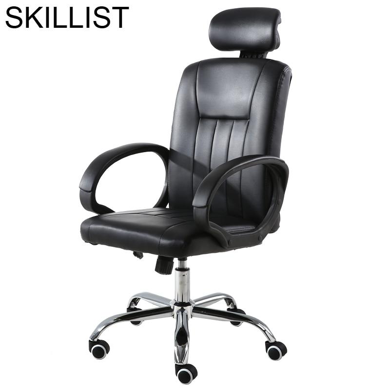 Stool Ergonomic Fotel Biurowy Oficina Y Ordenador Chaise De Bureau Ordinateur Leather Silla Gaming Poltrona Cadeira Office Chair