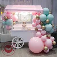 Globos de látex macaron de 5/10/12/18/36 pulgadas, multicolor, grandes, pastel, fiesta de cumpleaños, boda, deco, juguetes para niños, globo de helio