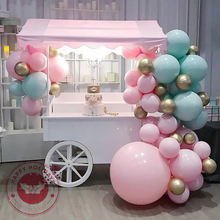 5/10/12/18/36inch macaron latex balloons multicolor large pastel birthday party wedding deco kids toys helium balloon