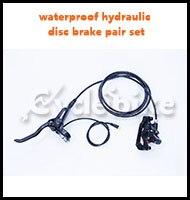 waterproof hydraulic disc brake pair set